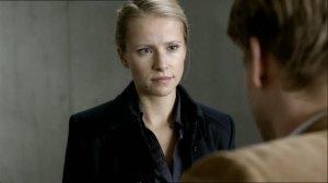 """Susanne Bormann als Sandra Reiß in """"Die letzte Spur"""". (Copyright: ZDF)"""